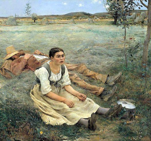Jules Bastien-Lepage  (1848–1884)  Hay Making