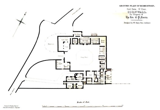 Ground Plan of Ford Farm