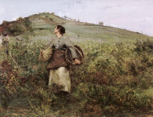 Jules Bastien-Lepage The Grape Harvest