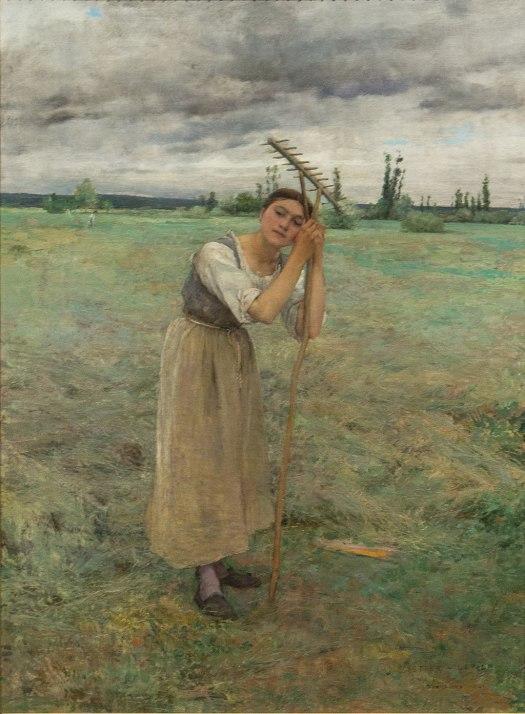 Jules Bastien-Lepage  (1848–1884) Weary