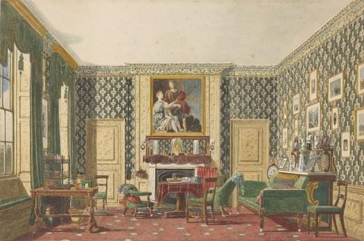 An Interior. Mary Ellen Best.