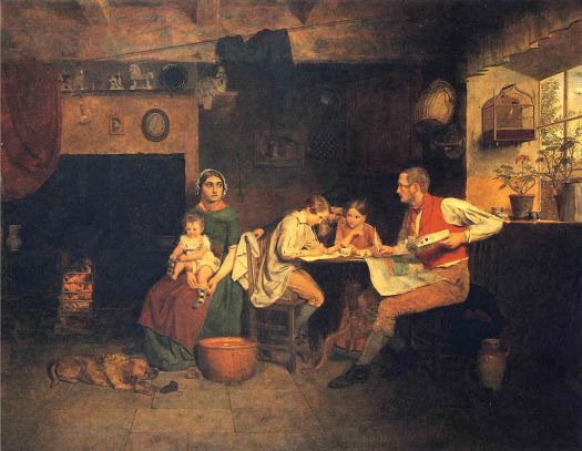 James Collinson  - Answering the Emigrant's Letter