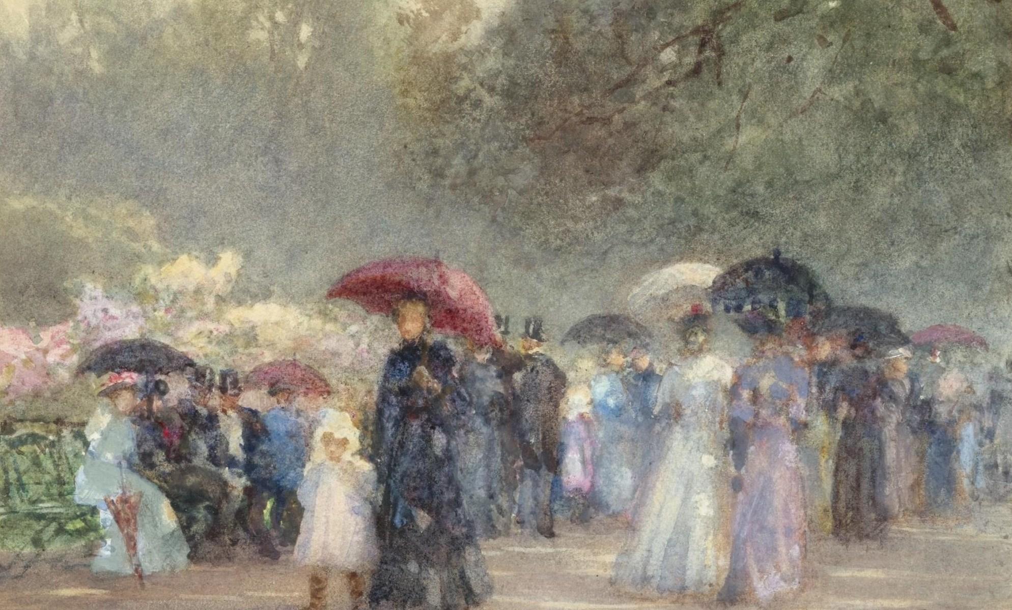 Hyde Park, May - Rose Maynard Barton