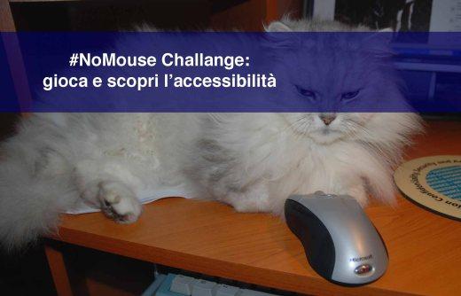 #NoMouse Challenge: gioca e scopri l'accessibilità
