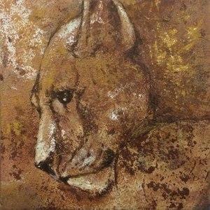 Visual artist Susanna-Seriola-Vesa   La leonessa