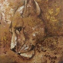 Visual artist Susanna-Seriola-Vesa | La leonessa
