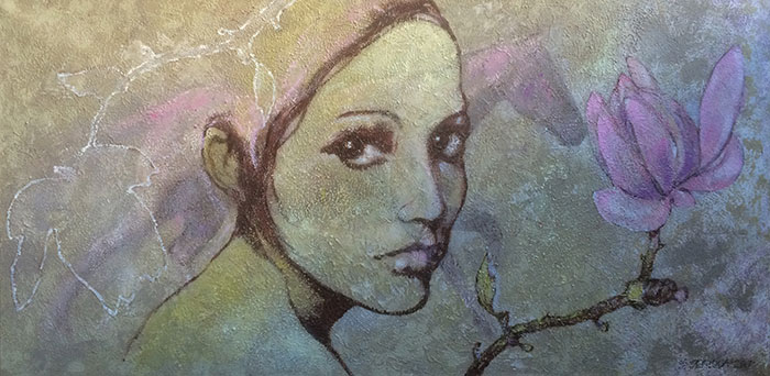 Visual artist Susanna-Seriola-Vesa | Disorganized dream