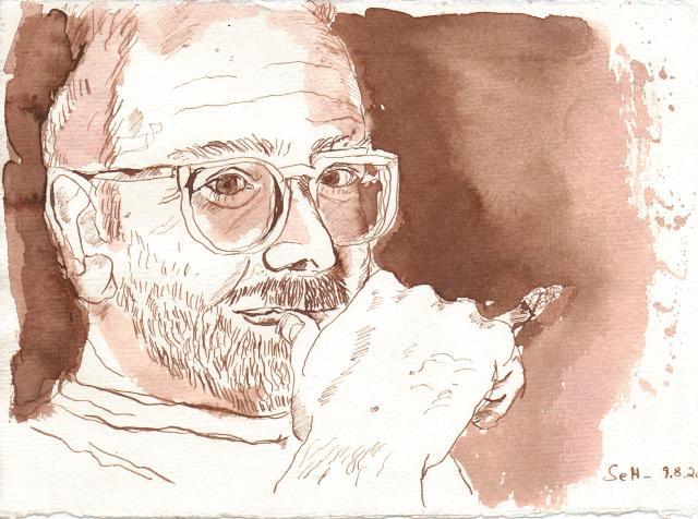 Daniel - Zeichnung von Susanne Haun