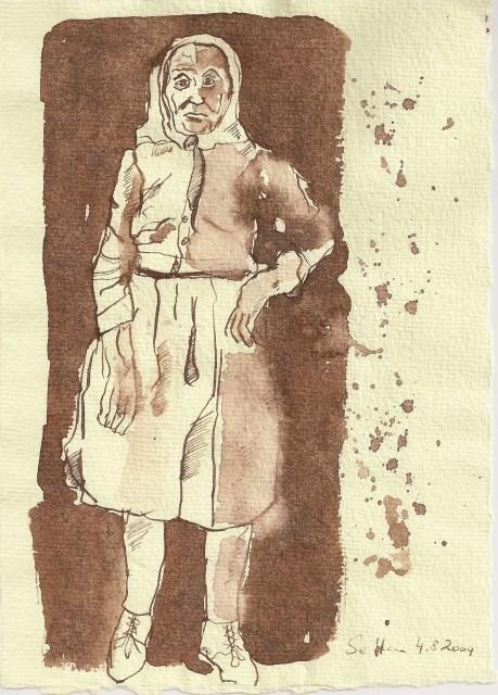 Das Alter - Zeichnung von Susanne Haun