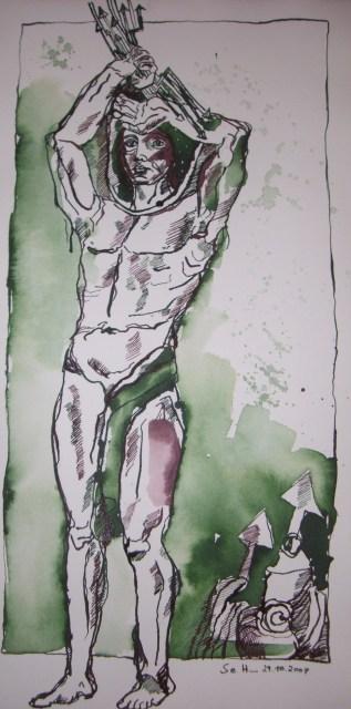 Inspiration Gardasee - Zeichnung von Susanne Haun