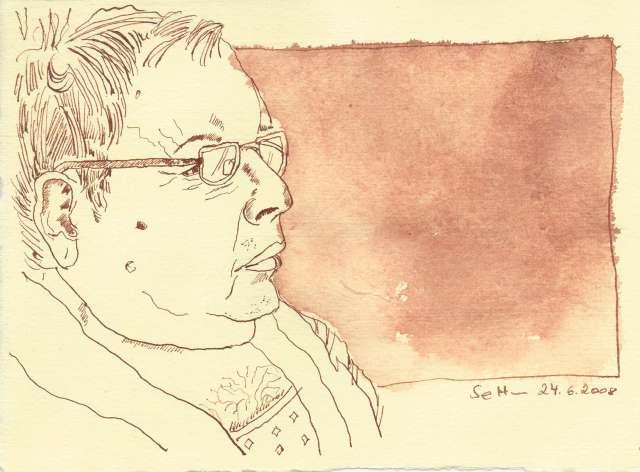 Papa - Zeichnung von Susanen Haun