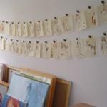 Foto von meinen Engeln in meinem alten Atlier in Tegel im Kunstzentrum