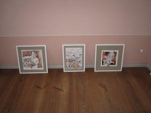 Sortierung Bilder im Gutshaus Steglitz - Foto von Susanne Haun
