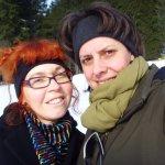 Claudia und ich - Foto Claudia Jahnke