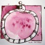 Fehdereifen, Teil 3, Zeichnung von Susanne Haun
