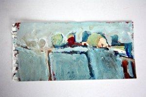 Conny Niehoff Landschaft vers. 2 10 x 20 cm