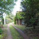 Unterer Teil unseres Hauses - rechts im Bild ist die Mauer des Backofen - Foto von Conny Niehoff