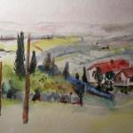 Entstehung Landschaft Toskana Zustand 4
