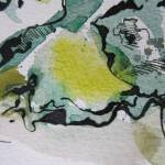 Ausschnitt Baumrinde 4 Zeichnung von Susanne Haun
