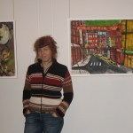 """Andreas und ich beim Hängen - Bilder: Susanne: """"Quadriga"""" Andreas: """"China Town"""""""