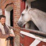 Maike mit ihrem zweiten Pferd - Foto von Susanne Haun