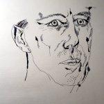 Entstehung der Zeichnung Beuys von Susanne Haun
