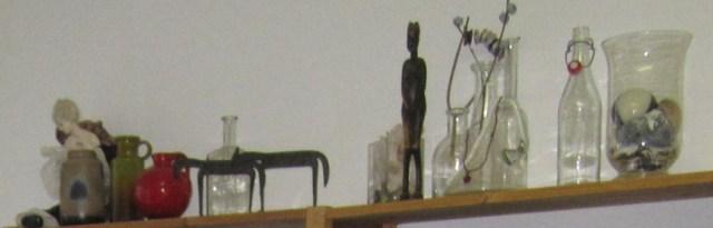 Meine Dinge in meinem jetzigen dritten Atelier in Berlin Lankwitz - Foto von Susanne Haun