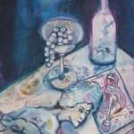 Tarot - Gemälde von Susanne Haun - 2006 - Acryl auf Leinwand - 100 x 70 cm