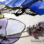 Einladung Ausstellung Susanne Haun in der Turmgalerie Imst Vorderseite