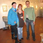 Andreas macht ein Foto von Suzi, ihrem Mann und mir