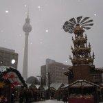 Und hier die Vorderseite, Weihnachtsmarkt am Alex - Foto von Susanne Haun