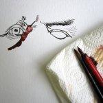 Es folgt das zweite - Zeichnung von Susanne Haun