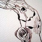 Detail Entstehung Zeichnung von Susanne Haun