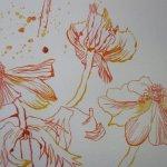 Im unteren Drittel des Blattes tummeln sich die meisten Blüten - Susanne Haun