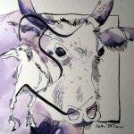 Es fehlt mir noch Kontrast - - Entstehung Zeichnung Susanne Haun