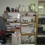 Mein sauberer Atelierbereich :-) Susanne Haun