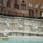 Der Fonte Gaia in Siena, Toskana - Foto von Susanne Haun