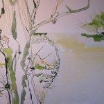Das andere Flußufer im Vordergrund ist schwer zu gestalten - Susanne Haun