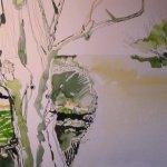 Es muss dunkel sein, damit der Baum hell in den Vordergrund tritt - Susanne Haun