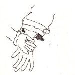 Auch Details greife ich mir gerne heraus - Skizze von Susann Haun