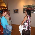 Die Besucher wechseln - Foto von Susanne Haun