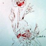 Eine Rose in Eldorado, in meinem Reich der Engel - Entstehung Rolle von Susanne Haun