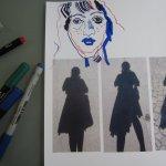 Verschieden Stifte geben verschiedene Linien - Foto von Susanne Haun
