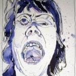 Kampfeswut - Zeichnung von Susanne Haun