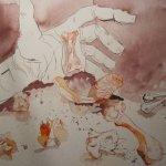 Das Orakel - Zeichnung von Susanne Haun