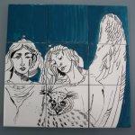 Das Türkis bringt die Engel nach vorne - Susanne Haun