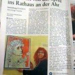 Susanne Haun in der Rhein-Zeitung