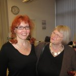 Margit Falkenhagen gehört zu den ersten Gästen - Foto von Suzi Binder