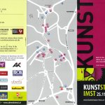 Flyer Kunststrasse Imst