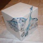 Storchen Kubus - Lilienthal Projekt von Susanne Haun